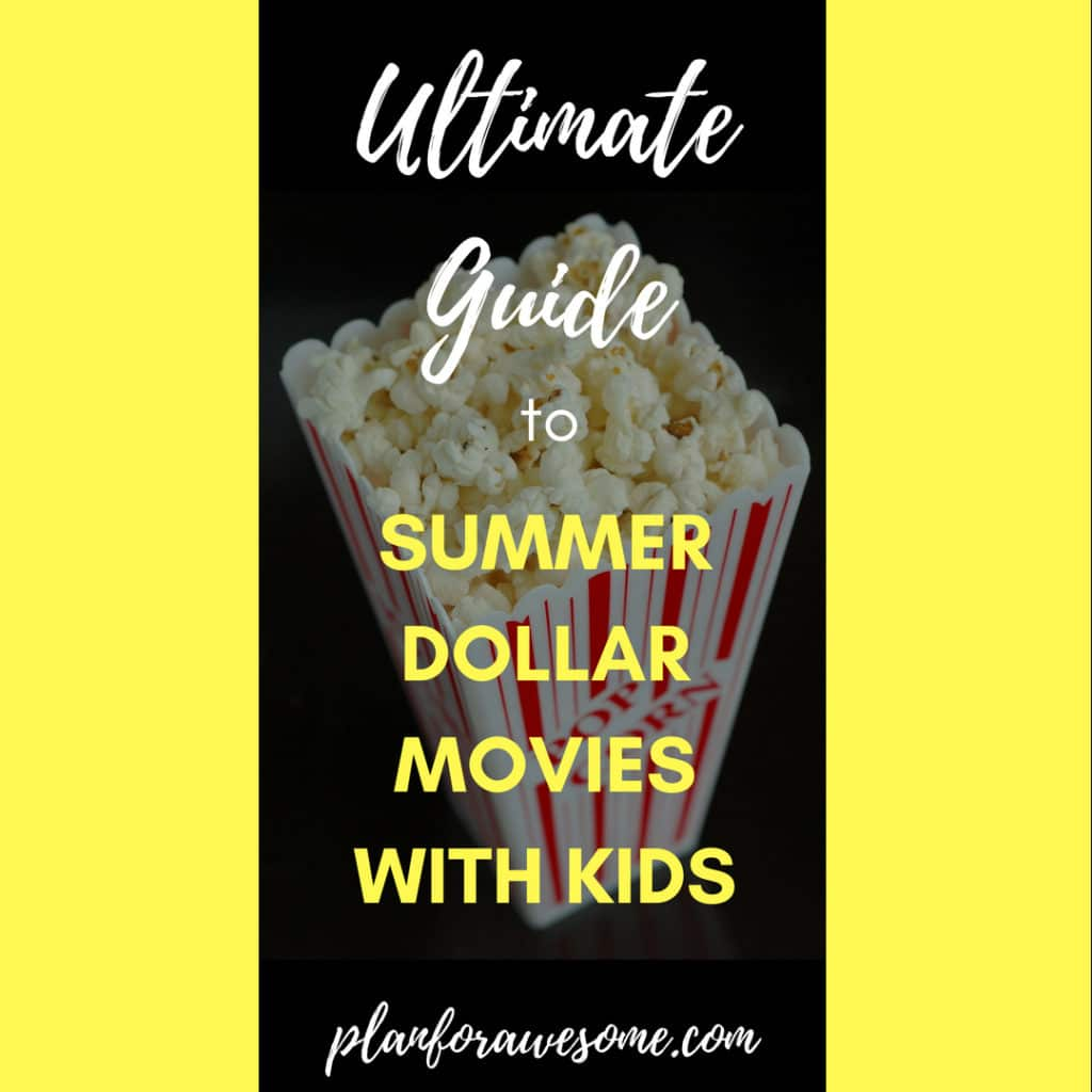 Ultimate Guide to Summer Movies with Kids