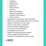 Prepare Your Family for an Earthquake - 11 Things to Do NOW - Free Printable Checklist!