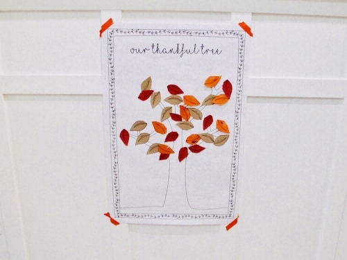 Our Thankful Tree - A Simple Way to Teach Gratitude - PlanForAwesome