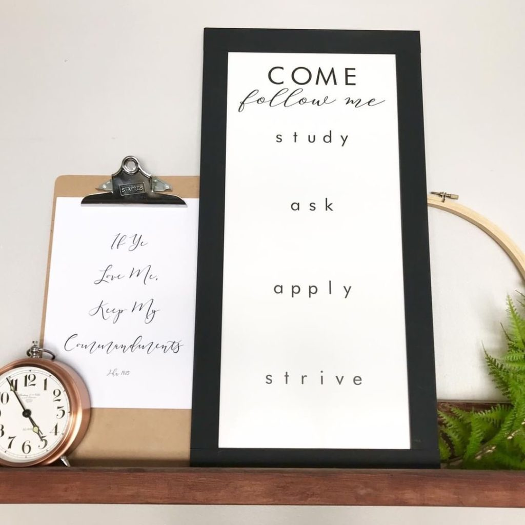 Free Printable Come, Follow Me 2019 Reading Schedule for the New Testament and Book of Mormon - A schedule for the entire year to finish both books of scripture in the year 2019-  PlanForAwesome