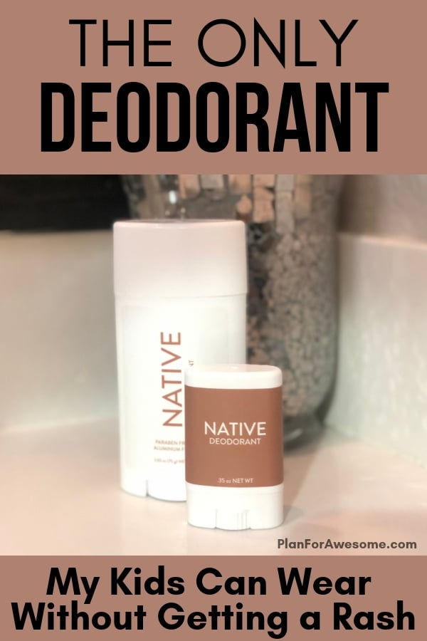 The BEST Natural Aluminum-Free Deodorant (coupon code included