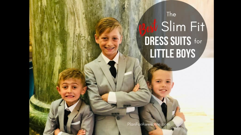 My Favorite dress suits for boys; unbeatable quality, stylish, and affordable! Perfect for all occasions including weddings, funerals, and church!