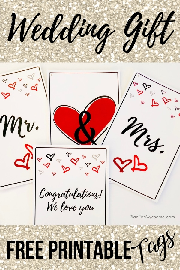 ADORABLE Free Wedding Printables - Mr. & Mrs.!