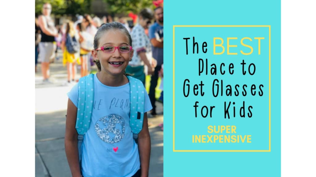 These glasses are SO awesome! I love that they are so inexpensive that I can get several pairs for my daughter and not even feel guilty about it! #kidsglasses #kidglasses