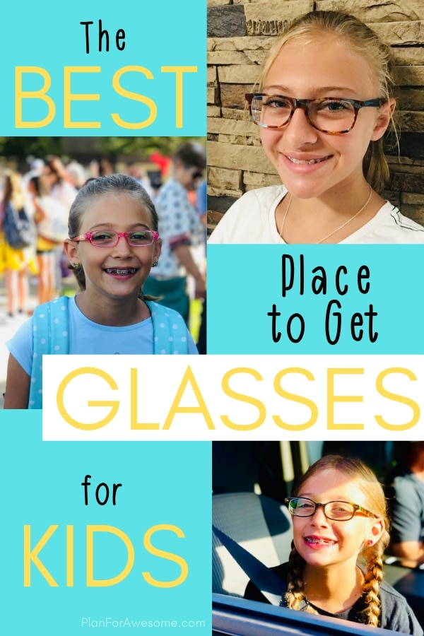 This website has such cute glasses and they are SO cheap and such great quality!  I love that they are so inexpensive that I can get a few pairs for my daughter and not even feel guilty about it! #kidsglasses #kidglasses