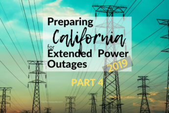 Awesome website to help prepare for power outages and even has a free printable checklist! I am so glad I found PlanForAwesome.com, since California is going to have planned power outages this fire season - this girl's stuff is GOLD! #emergencypreparedness #californiafires #poweroutage