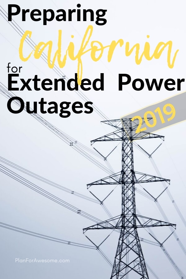 What an awesome resource to help prepare for power outages and it even has a free printable checklist! PlanForAwesome.com is full of emergency preparedness stuff and free printables galore.  Since California power companies have announced planned power outages this fire season, I have been reading this girl's blog like crazy! #emergencypreparedness #poweroutage