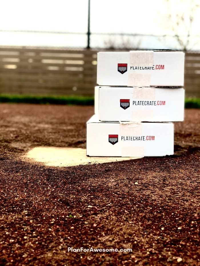 The BEST GIFT EVER for Baseball Lovers (plus a $20 off coupon) - Easiest and coolest gift idea for baseball lovers and players!  A surprise box full of baseball gear, apparel, training aids, accessories, and snacks - I just ordered 3 for Christmas for my 3 baseball players!  #baseballgiftideas #baseballmom