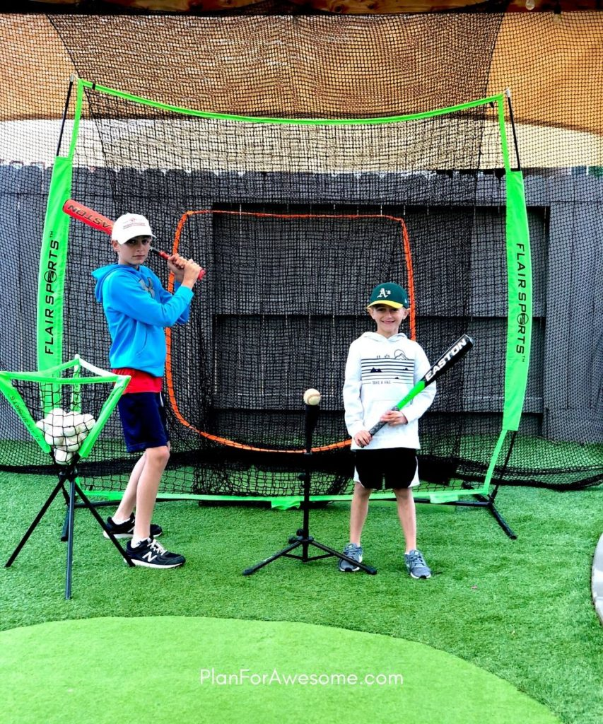 3 Genius Ideas to Work on Baseball Skills at Home Amid COVID-19 - Our favorite pieces of baseball equipment for our backyard - they are INCREDIBLE and super affordable!  #littleleaguemom #baseballpracticeathome
