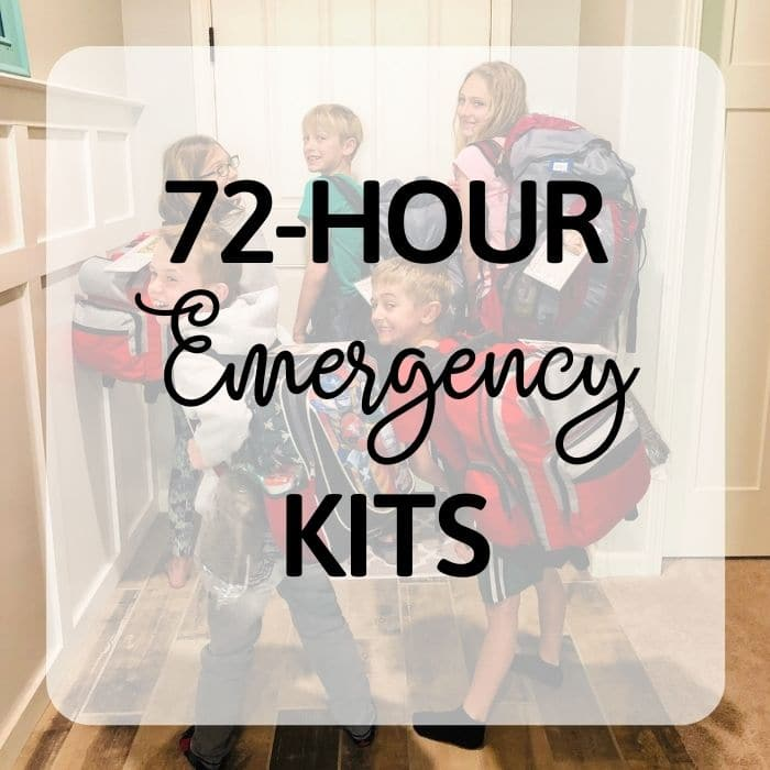Emergency Preparedness - 72-Hour Kits Category - PlanForAwesome