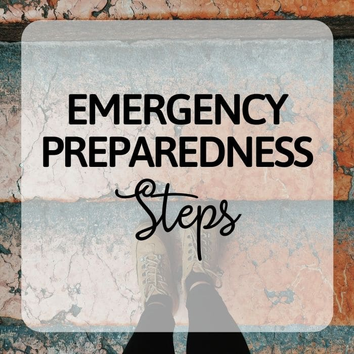 Emergency Preparedness - EP Steps Category - PlanForAwesome