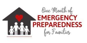 Emergency Preparedness Challenge for Families - Logo