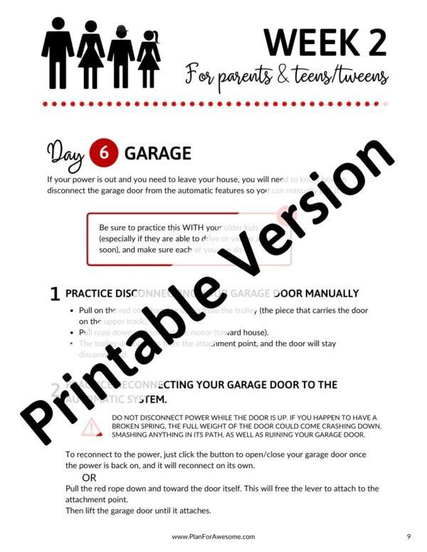 Printable Version Example