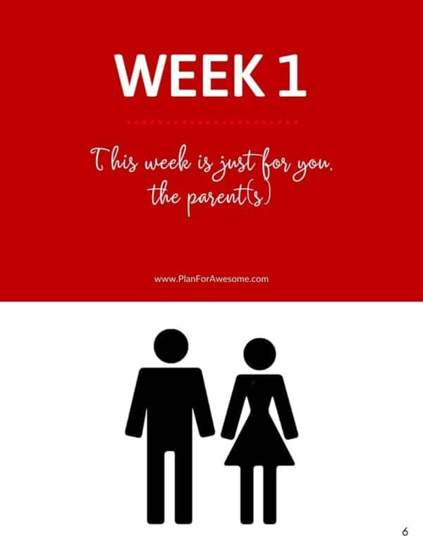 Ebook - One Month of Emergency Preparedness for Families - Week 1