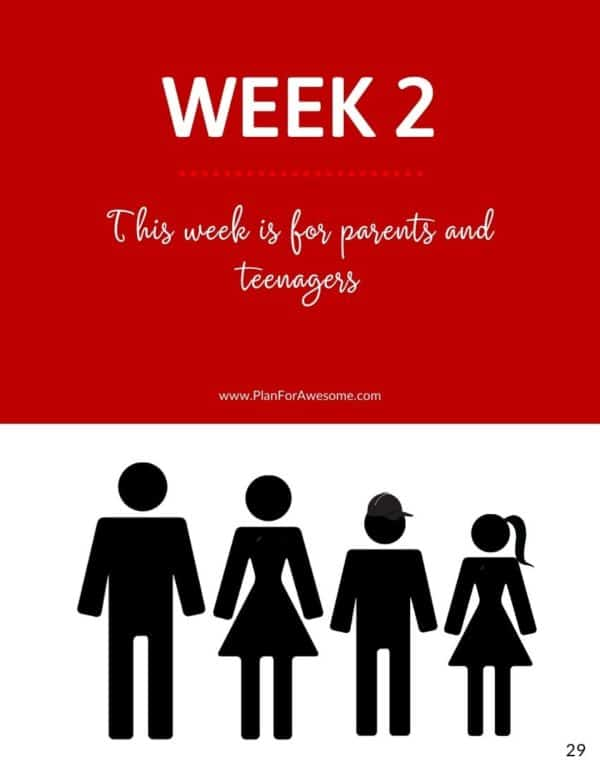 Ebook - One Month of Emergency Preparedness for Families - Week 2