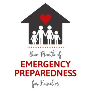 Ebook - One Month of Emergency Preparedness for Families - Cover Page