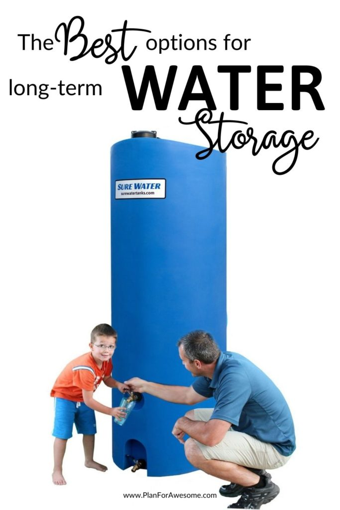The Best Long-Term Water Storage Options for Families