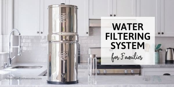 The Best Water Filtration Options for Families