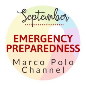 September Emergency Preparedness Marco Polo Channel